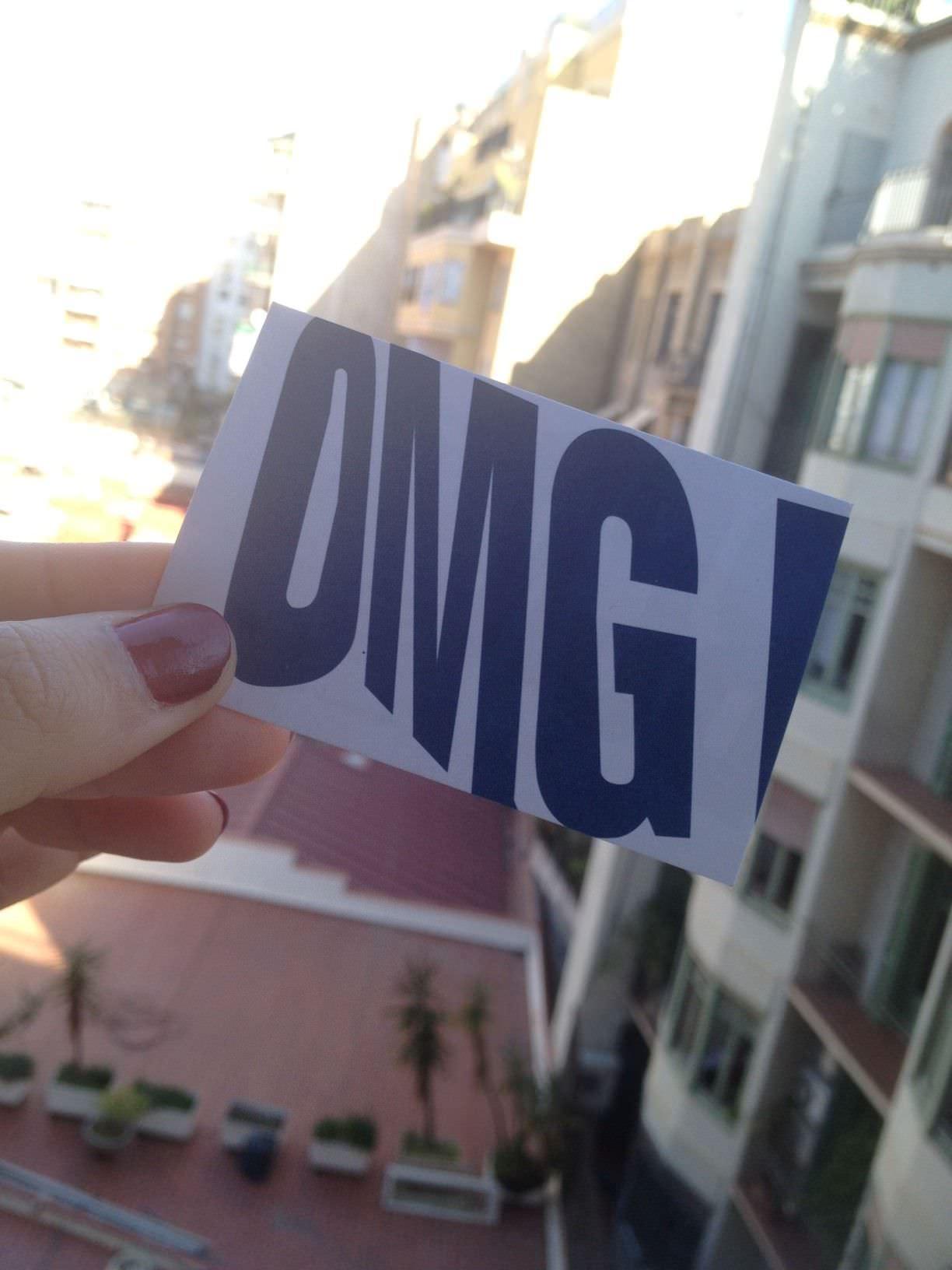 Card OMG BCN