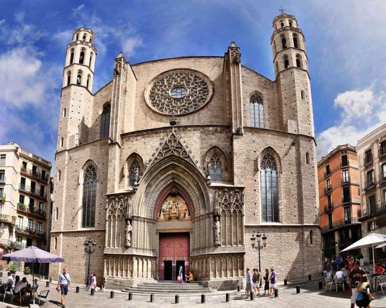 Basílica famosa de Barcelona