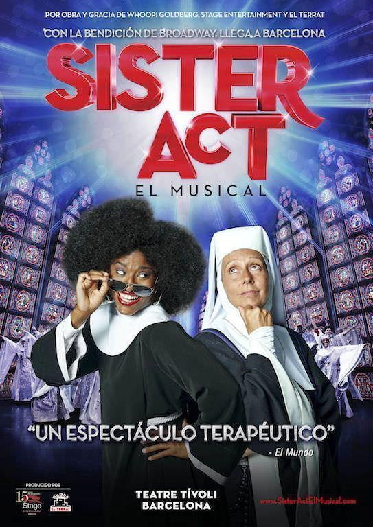Sister Act en Barcelona
