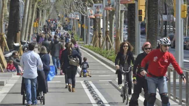 Avenida Diagonal, de Barcelona
