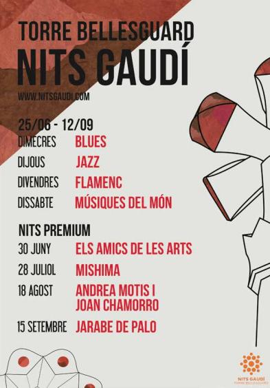 Cartel Nits Gaudi