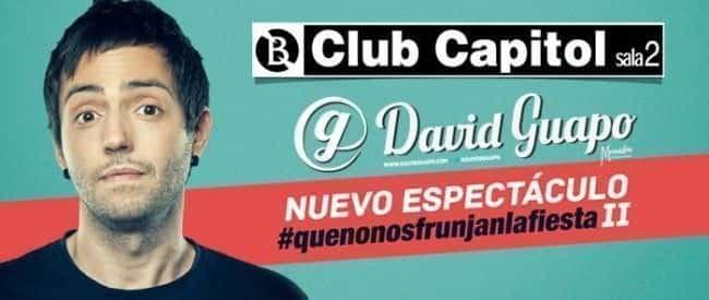 El nuevo espectáculo de David Guapo