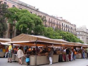 Mercado de antigûedades