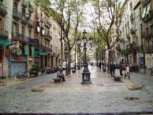 La arteria principal del barrio