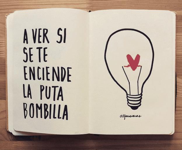 Boceto exposición - Instagram oficial @alfonsocasas