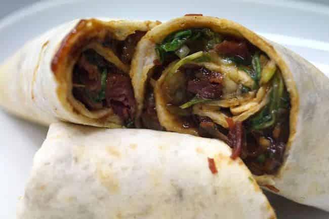 Burrito de Pato Oriental