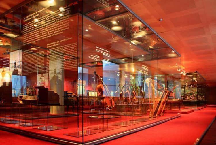 exposición museo de la música