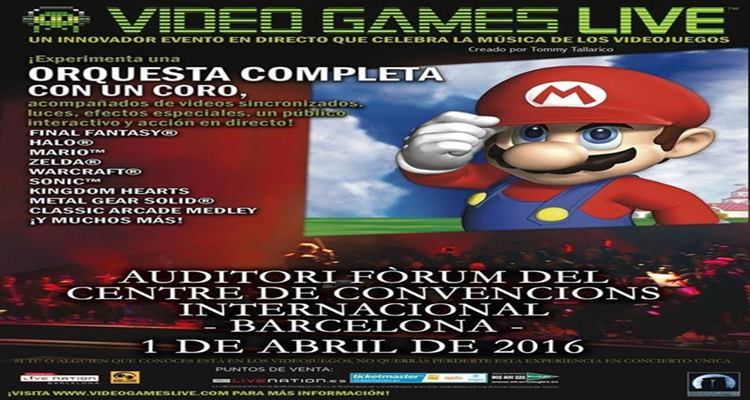 Video Game Live llega a Barcelona