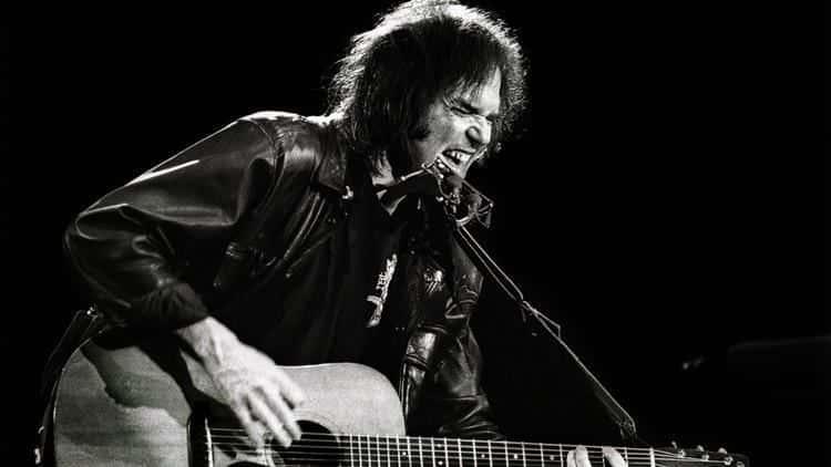 Neil Young en los años 70