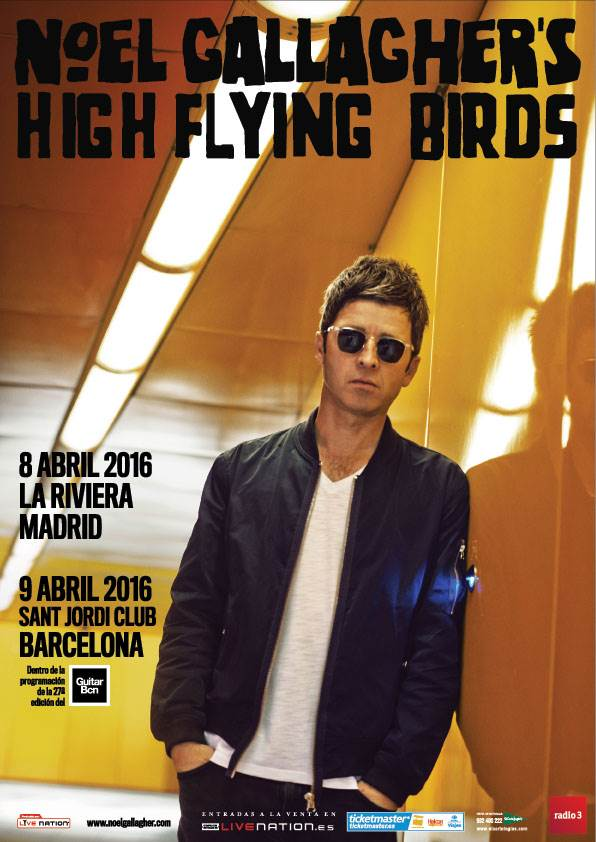 Noel Gallagher actuara en el Sant Jordi Club.