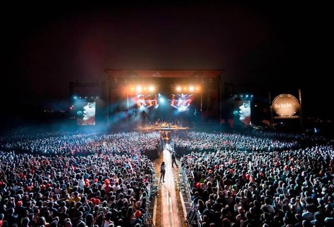 Imagen del festival BBK Live.
