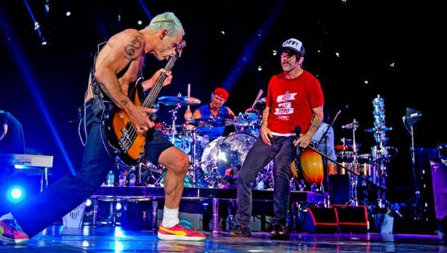 Dos ocasiones de poder ver en directo a Red Hot Chili Peppers.