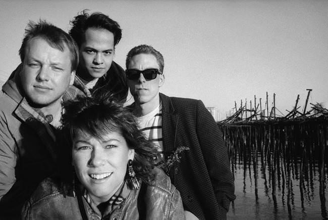 Formación original de Pixies.