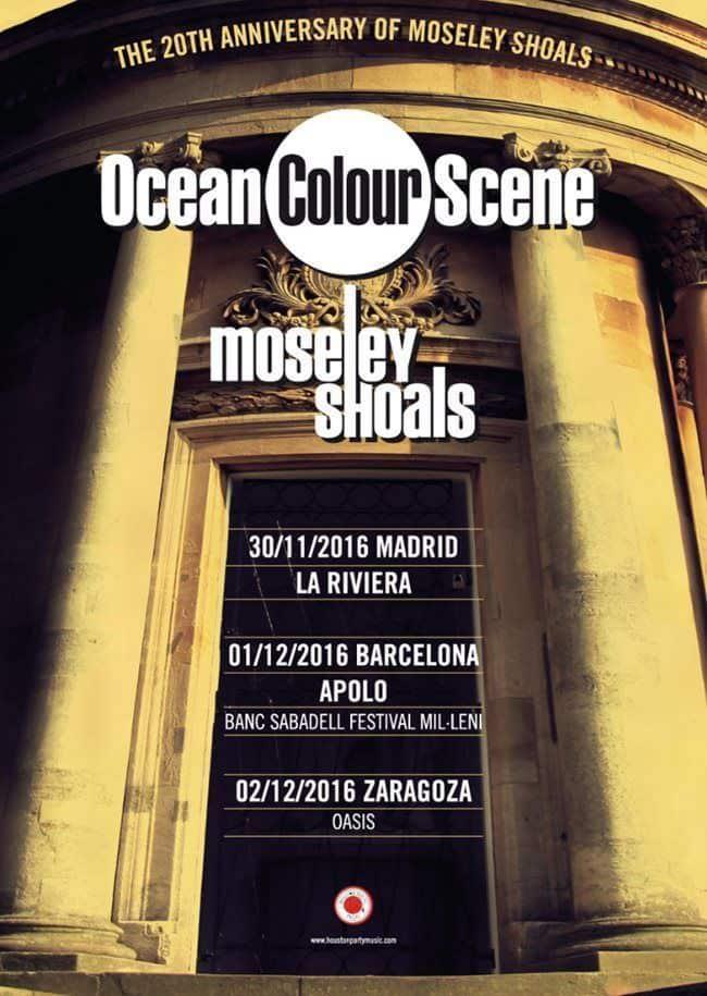 Gira por España de Ocean Colour Scene