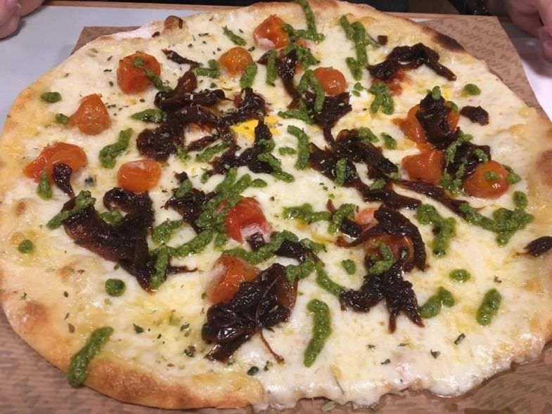 Pizza creada por UBDEB