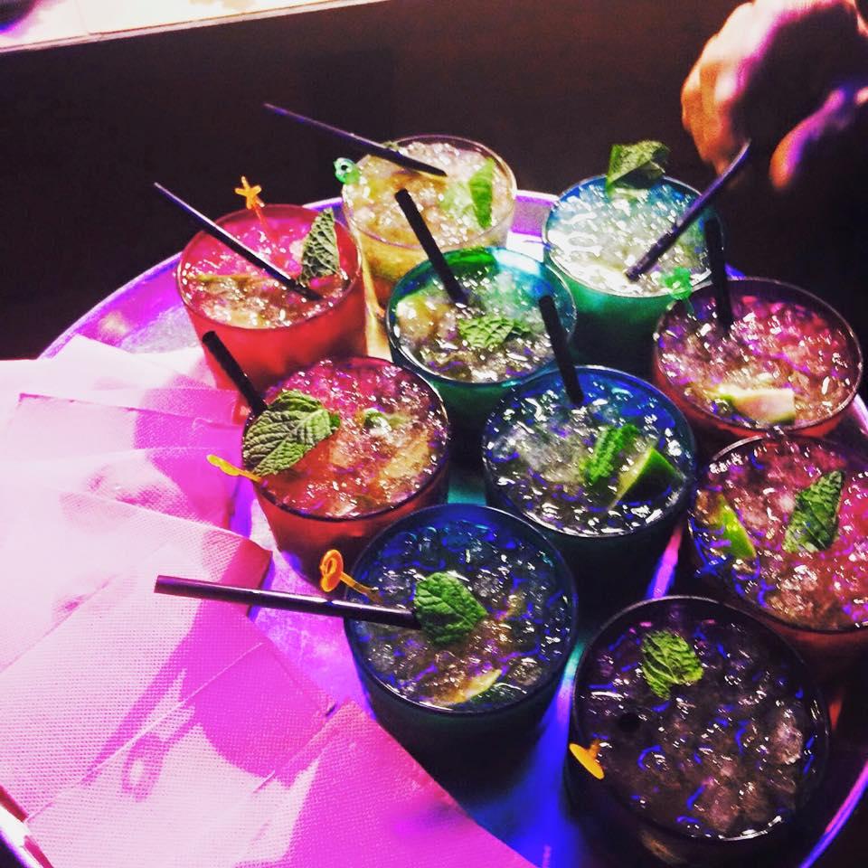 Combinado de cocktails