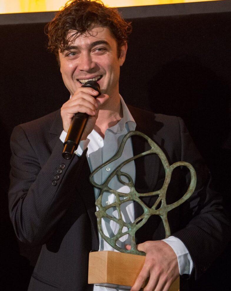El actor Riccardo Scamarcio recoger el premio de Honor
