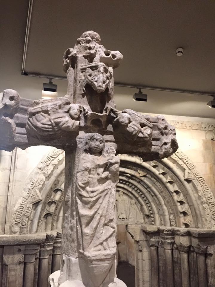 Piezas arquitectónicas conservadas en el museo