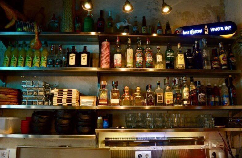 Alcoholes de Pikio Taco