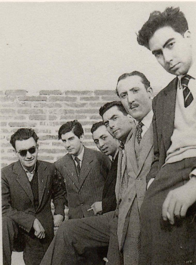 Brossa fundó la revista 'Dau al set' junto a Tapias y otros intelectuales de la época