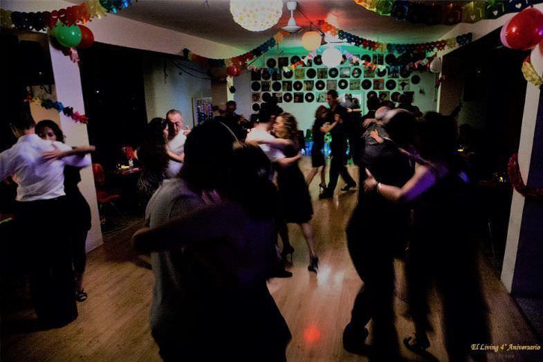 Salón de baile El Living Tango Barcelona