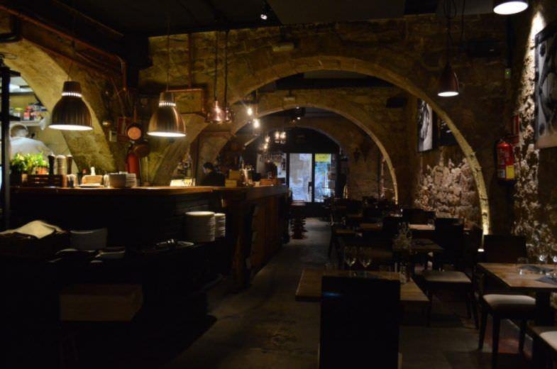 Interior del Restaurante Arcano.