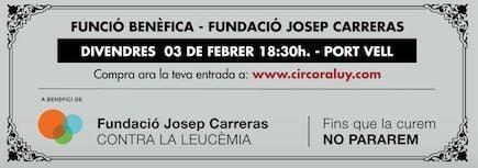 Función Benéfica - Fundación Josep Carreras