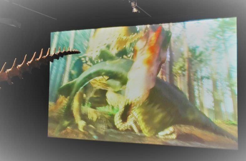 Animaciones dan vida al Spinosaurus