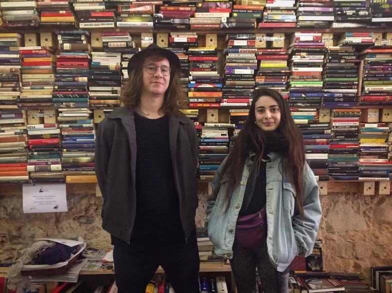María y Jan, los guías de Barcelona Book Lovers