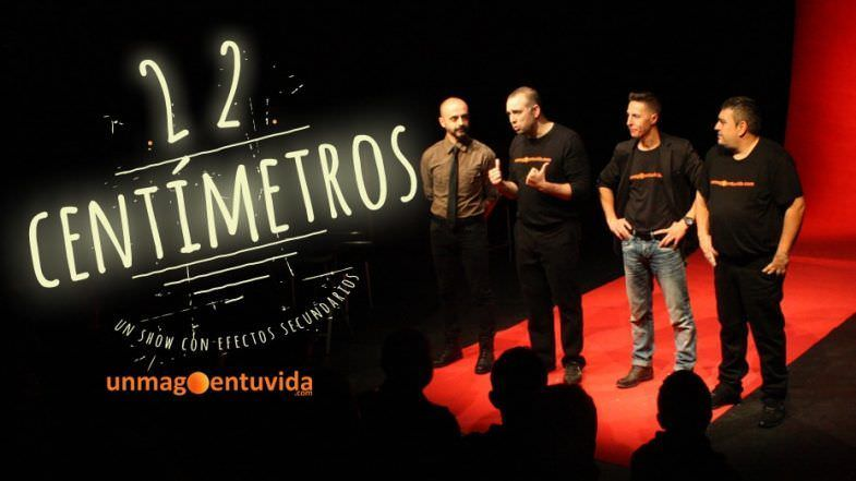 "El show de magia ""22 centímetros"""