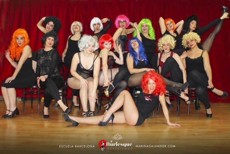 Clase de Cabaret en Burlesque Experience
