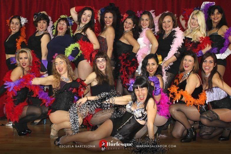 Clase de Moulin Rouge en Burlesque Experience