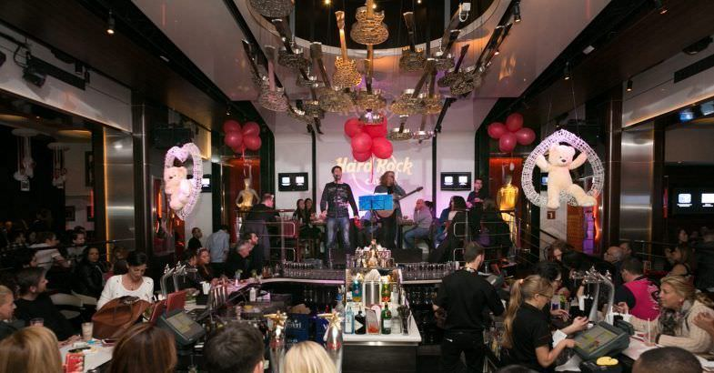 San Valentín en Hard Rock Café Barcelona