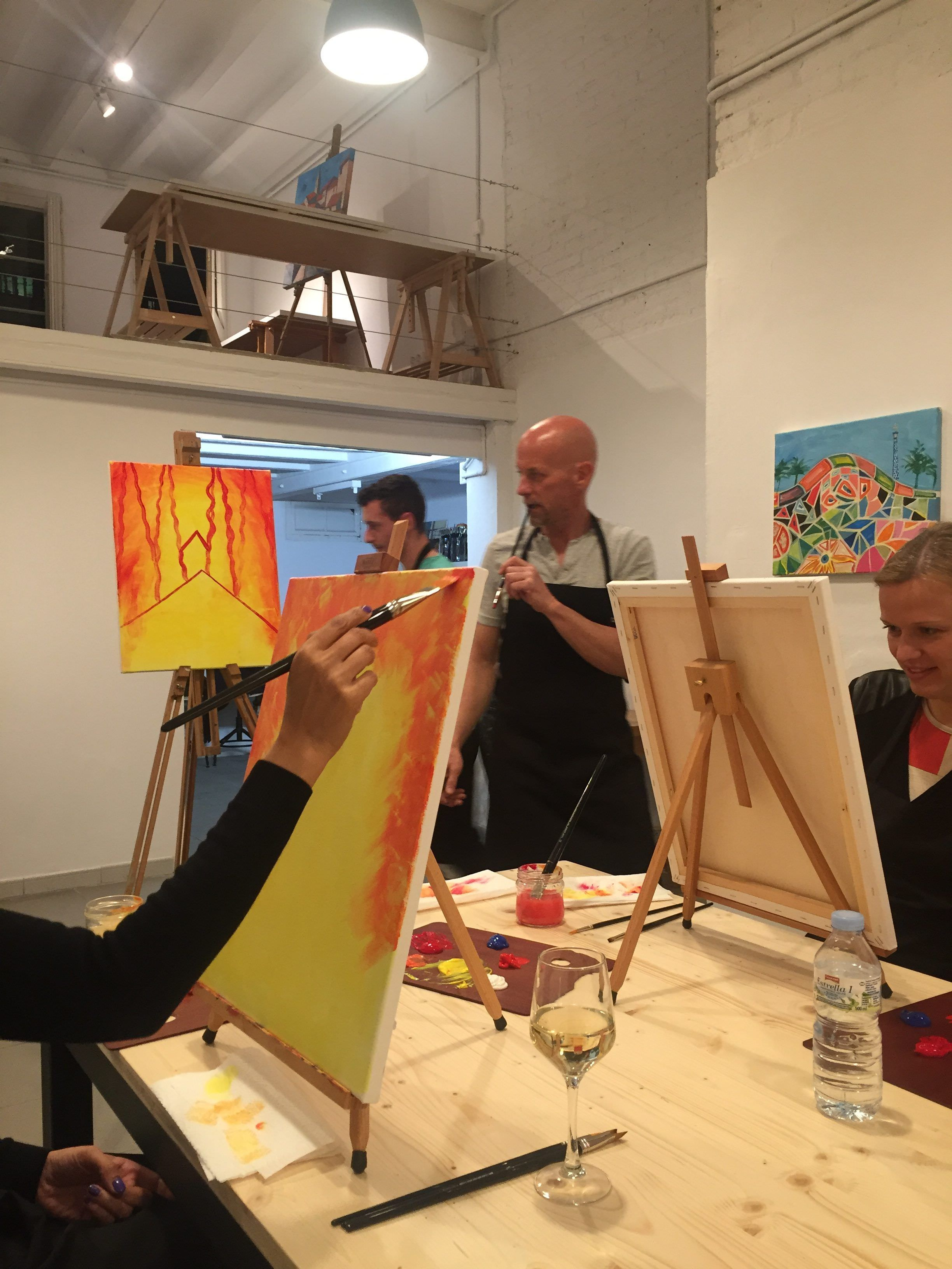 Proceso creativo en Arte Bar