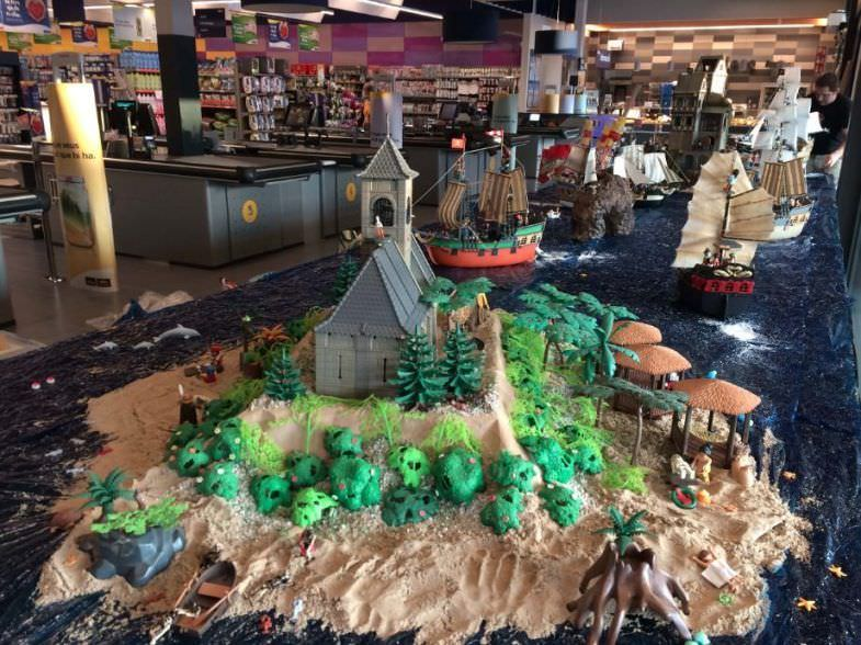 Isla de playmobil