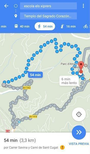 Ruta Google Maps