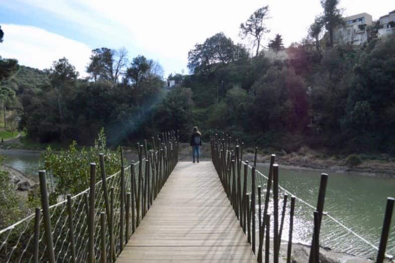 Puente del Pantà de Vallvidrera
