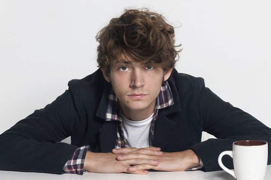 El joven cantante Tildo Muxart.
