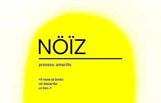 Cartel del proyecto NÖÏZ de Dani Domínguez