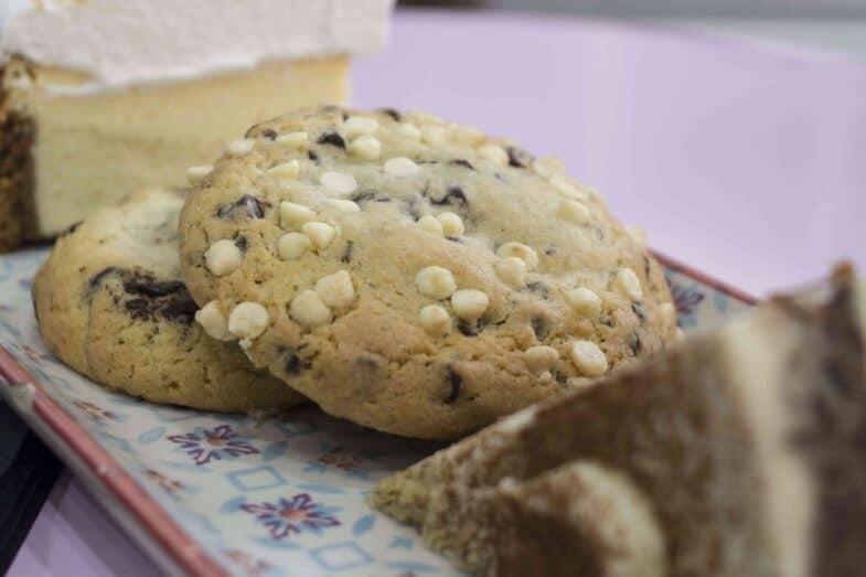 Cookies de Nutella y de dulce de leche