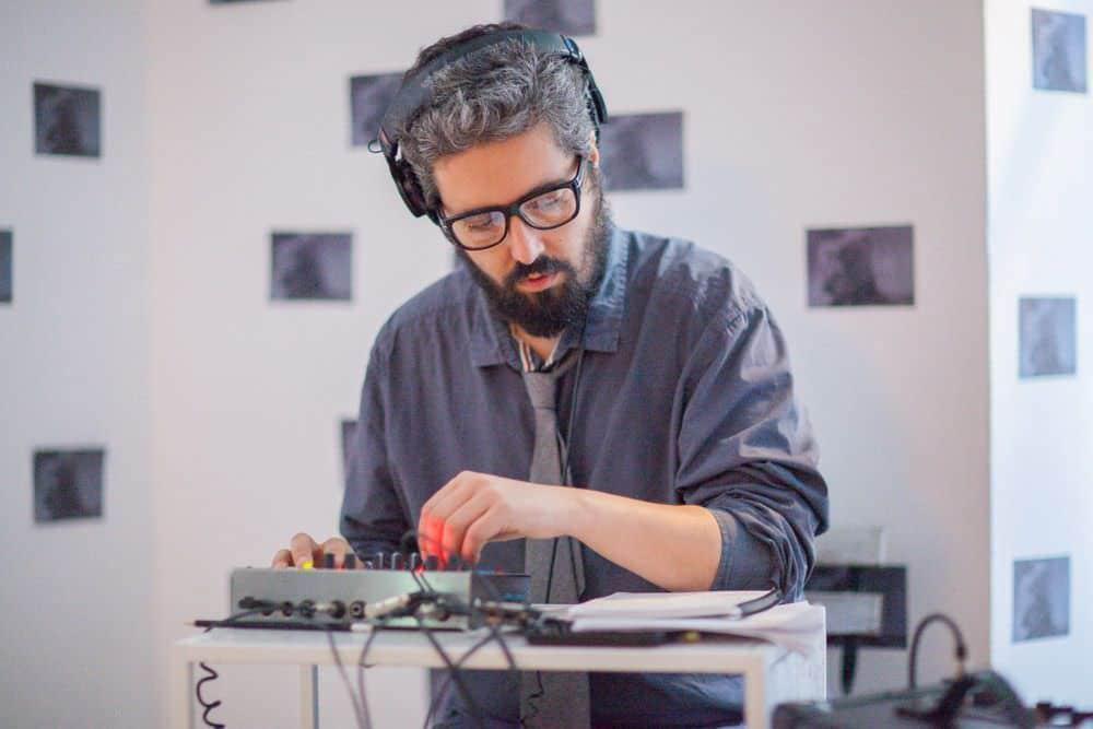 El batería Dani Domínguez en NÖÏZ