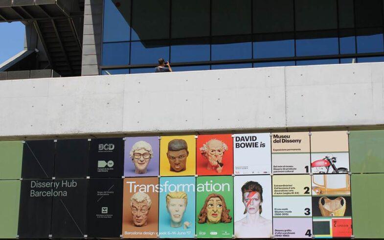 Fachada del BDW en el Disseny Hub Barcelona