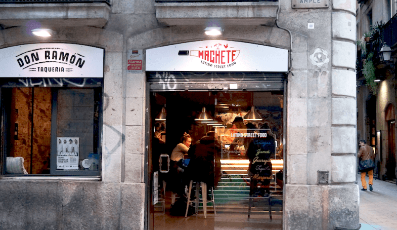 Latin street food en Barcelona