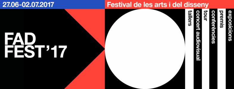Portada del FAD Fest 2017.