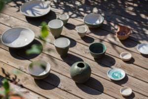 Las cerámicas de Eva Kengen las podrás encontrar en el mercado