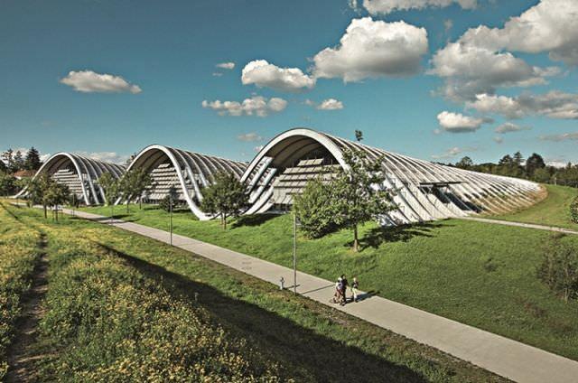 Suiza, como destino de excelencia en ámbito del diseño (Bern, Zentrum Paul Klee).