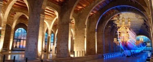 Museu Marítim de Barcelona, uno de los escenarios del tour
