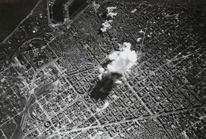 bombardeo conocido como el del Coliseo