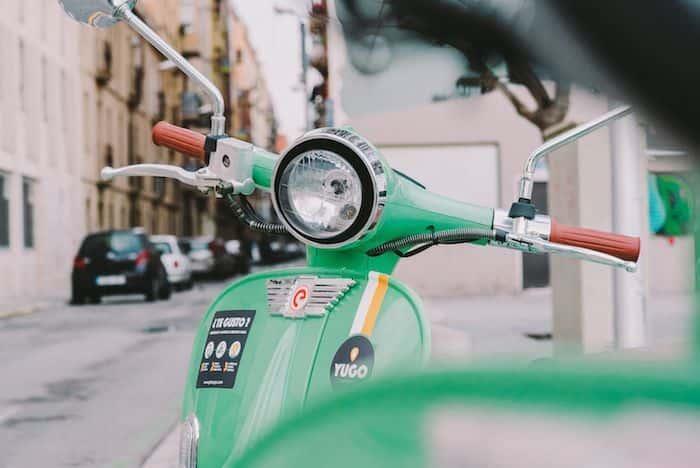 YUGO, el transporte alternativo y ecológico · Un Buen Día en Barcelona