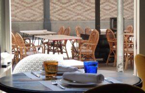 La terraza de Café Kafka
